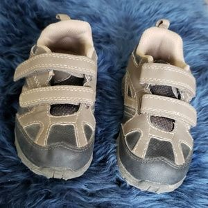 Boys Faded Glory Velcro Rugged Sneakers